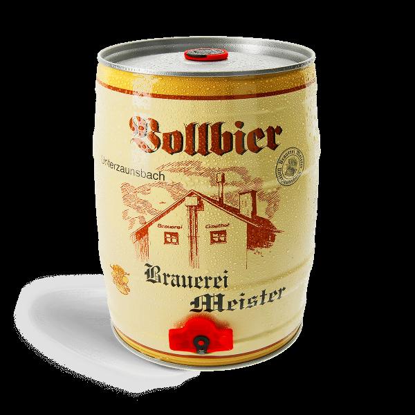 Meister Vollbier - 5 Liter Fass
