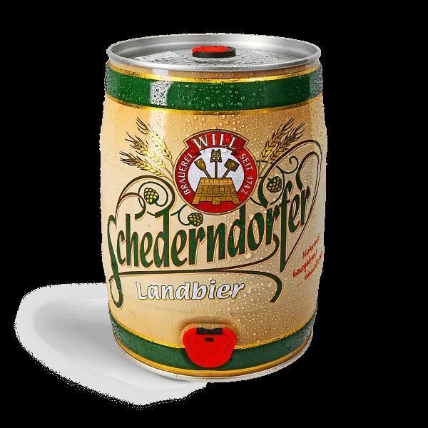 Schederndorfer Landbier - 5 Liter Fass