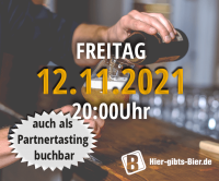 Franconian Online Beer Tasting | 12.11.2021