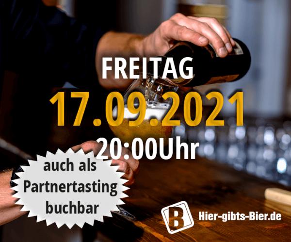 Fränkisches Online-Biertasting   17.09.2021