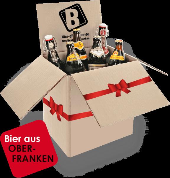 Biergeschenkbox Oberfranken