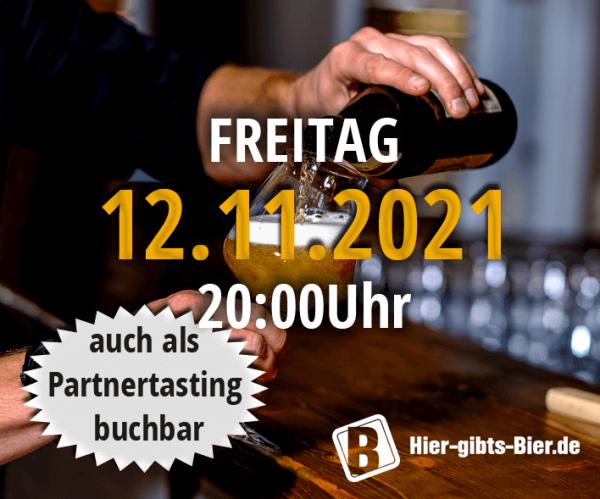 Fränkisches Online-Biertasting   12.11.2021
