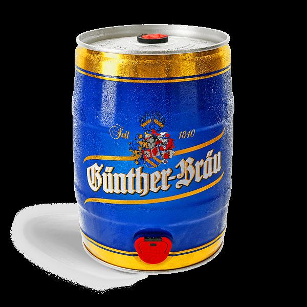 Günther Premium Pilsener - 5 Liter Fass