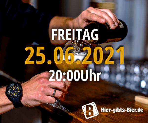 Fränkisches Online-Biertasting | 25.06.2021