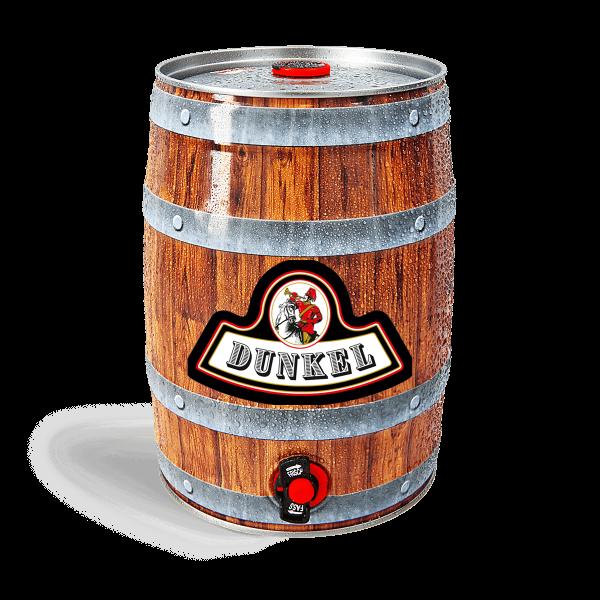 Manns Bräu Dunkel - 5 Liter Fass