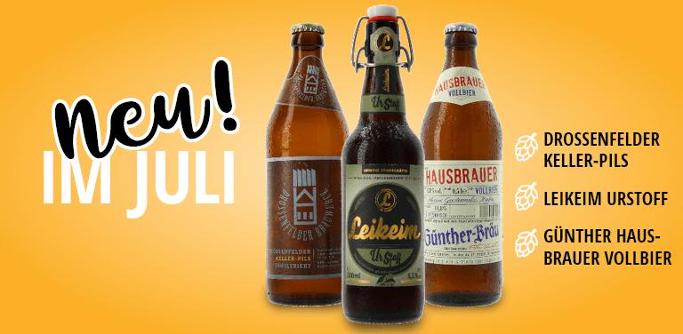 neue Biere aus Franken