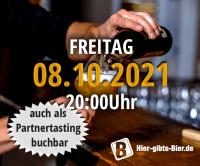 Franconian Online Beer Tasting | 08.10.2021