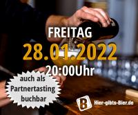 Fränkisches Online-Biertasting | 28.01.2022
